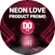 Neon Love Product Promo - VideoHive Item for Sale