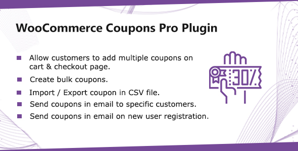 WooCommerce Coupons Pro Plugin