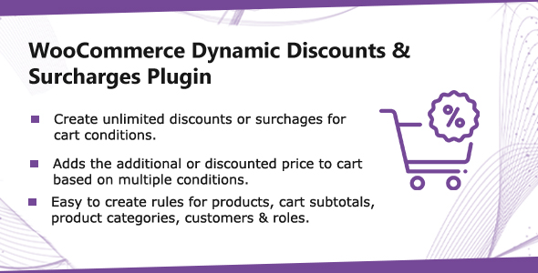 WooCommerce Cart Price - Discounts & Extra Fees Plugin