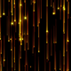 Gold Glitter Falling - VideoHive Item for Sale