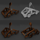 Catapult rigged Animation Low-Poly - 3DOcean Item for Sale