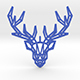 Deer pendant - 3DOcean Item for Sale