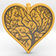 Tree of life Heart pendant - 3DOcean Item for Sale