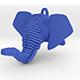 Elephant Head Pendant - 3DOcean Item for Sale