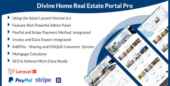 Divine Home - Real Estate Portal Pro Download
