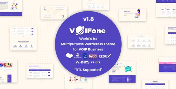 Voifone   Multipurpose VOIP WordPress Theme