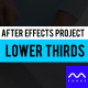 Lower Thirds Auto Scale - VideoHive Item for Sale