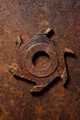 Old milling cutter on rusty metal background - PhotoDune Item for Sale
