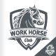 Work Horse Badge - GraphicRiver Item for Sale