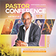 Pastor Conference Flyer - GraphicRiver Item for Sale