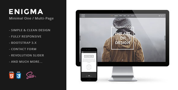 Themeforest | Enigma | Creative Responsive Minimal HTML Template Free Download free download Themeforest | Enigma | Creative Responsive Minimal HTML Template Free Download nulled Themeforest | Enigma | Creative Responsive Minimal HTML Template Free Download
