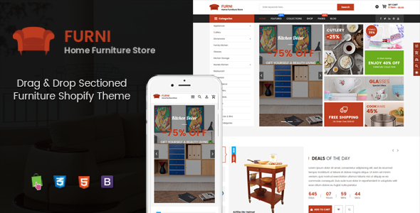Furni - Multipurpose Sections Furniture Shopify Theme
