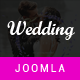 Wedding - Resonsive Event Joomla Template - ThemeForest Item for Sale