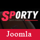 Sporty - Flexible Sports News Joomla Template - ThemeForest Item for Sale