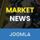 MarketNews - Responsive Financial & Business News Joomla Template - ThemeForest Item for Sale