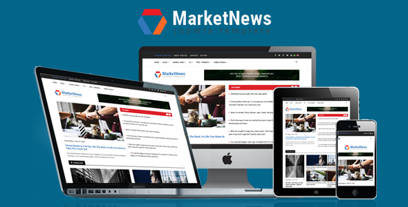MarketNews - Responsive Financial & Business News Joomla Template