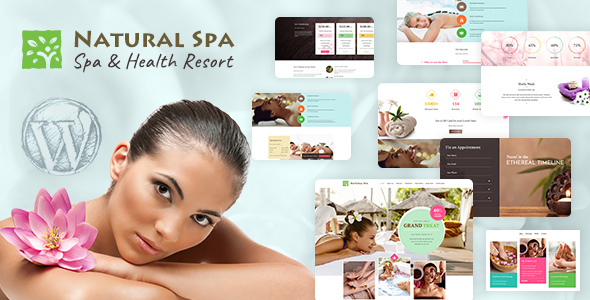 Nature Spa - Massage WordPress Theme
