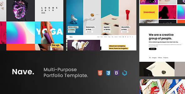 Nave — Multi-Purpose Portfolio Template