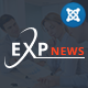 ExpNews - Clean Drag & Drop News Portal Joomla Template - ThemeForest Item for Sale