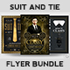 Suit and Tie Flyer Bundle - GraphicRiver Item for Sale