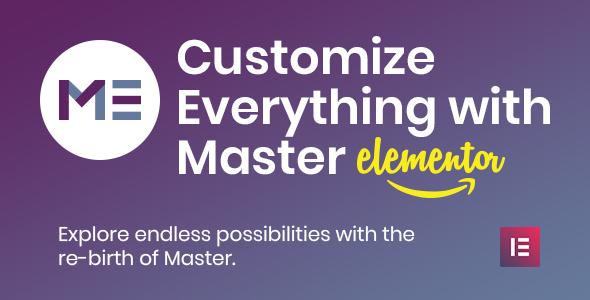 Master Creator - Minimal Elementor Theme