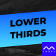 Auto Resizing Lower Thirds - VideoHive Item for Sale