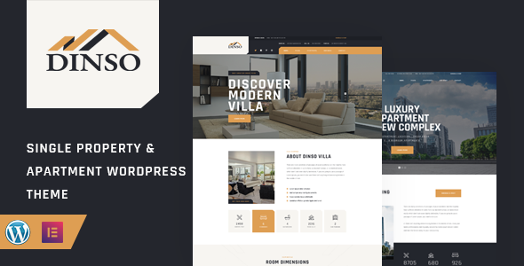 Dinso - Single Property & Apartment WordPress Theme