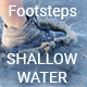 Footsteps Shallow Water