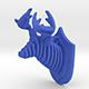 Deer Head Pendant - 3DOcean Item for Sale