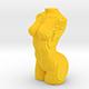 Sliced Female Torso Model - 3DOcean Item for Sale