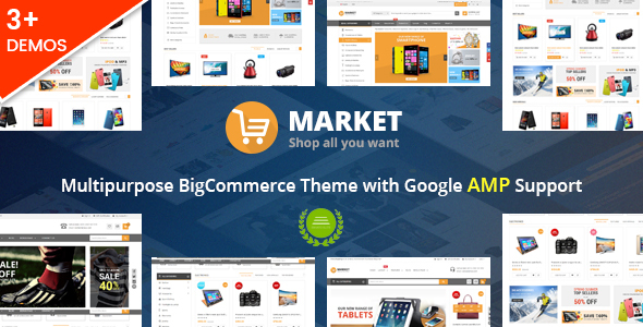Market - Multipurpose Stencil BigCommerce Theme & Google AMP Ready