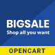 BigSale - The Multipurpose Responsive SuperMarket Opencart 3 Theme ( 6 Designs Ready!) - ThemeForest Item for Sale