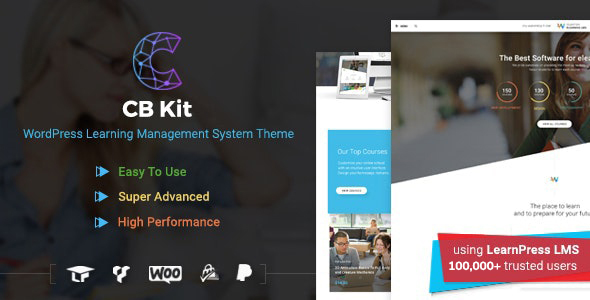Course & LMS WordPress Theme | CBKit 4