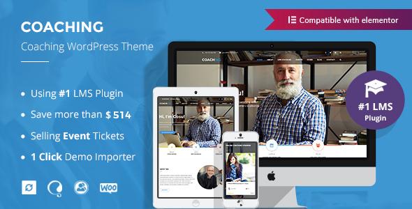 Colead | Coaching & Online Courses WordPress Theme