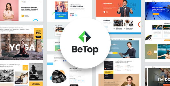 BeTop – Coaching & Speaker WordPress Theme