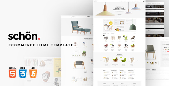 schön.   eCommerce HTML Template