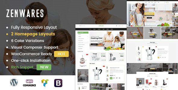 Review: Zenwares - Kitchen Interior & Appliances WooCommerce WordPress Theme free download Review: Zenwares - Kitchen Interior & Appliances WooCommerce WordPress Theme nulled Review: Zenwares - Kitchen Interior & Appliances WooCommerce WordPress Theme