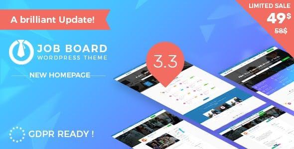 InJob | Multi features for recruitment WordPress Theme