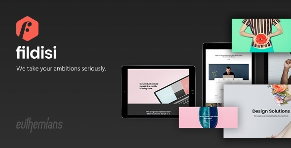 Fildisi - Responsive Multi-Purpose WordPress Theme
