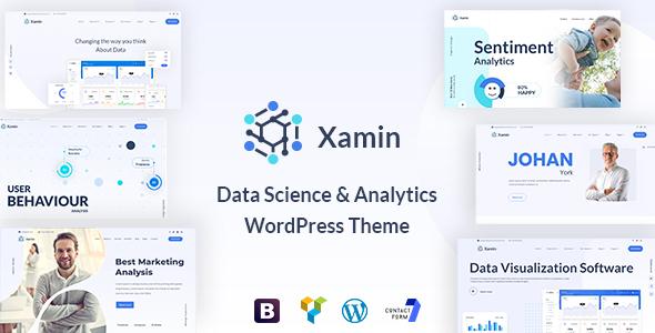 Xamin - Data Science & Analytics WordPress Theme