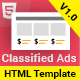 Classima - Classified Ads HTML Template - ThemeForest Item for Sale