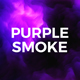 Purple Smoke Background 4K - VideoHive Item for Sale