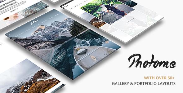 PhotoMe   Portfolio WordPress