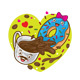 Coffee and Donut Cartoon Character - GraphicRiver Item for Sale