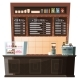 Coffeehouse Interior Barista Stance with Menu - GraphicRiver Item for Sale