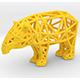 Baird's Tapir (adult male) - 3DOcean Item for Sale