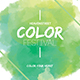 Color Festival Flyer - GraphicRiver Item for Sale