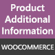 WooCommerce Product Additional Information Plugin - CodeCanyon Item for Sale