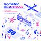 Modern Flat Design Isometric Illustration - GraphicRiver Item for Sale