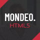 Mondeo - One Page Creative Marketing HTML Template - ThemeForest Item for Sale